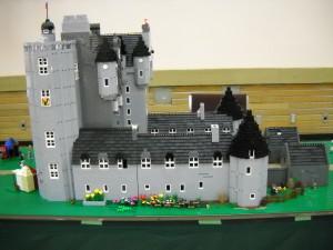 Castle Fraser from the 2013 Highland Games SALUG display